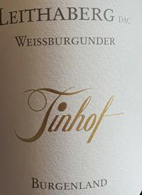 Tinhof Leithaberg Weissburgundertext