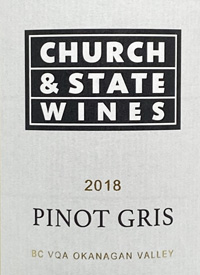 Church & State Wines Pinot Gristext