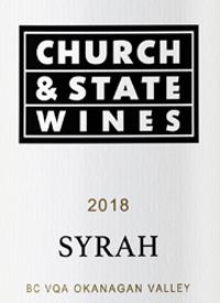 Church & State Wines Syrahtext