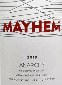 Mayhem Anarchy Reserve Merlottext
