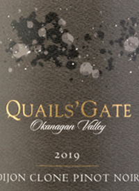 Quails' Gate Dijon Clone Pinot Noirtext