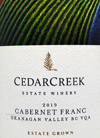 CedarCreek Estate Cabernet Franctext