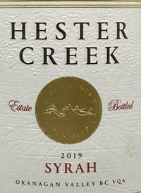 Hester Creek Syrahtext