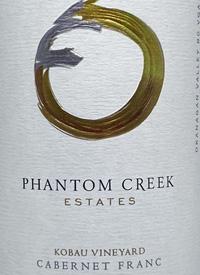Phantom Creek Estates Kobau Vineyard Cabernet Franctext