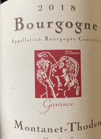 La Soeur Cadette Montanet-Thoden Garance Bourgogne Rougetext