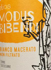 Elios Modus Bibendi Bianco Maceratotext