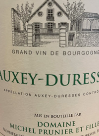 Michel Prunier et Fille Auxey-Duressestext