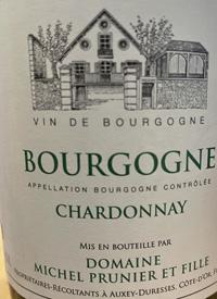 Michel Prunier et Fille Bourgogne Chardonnaytext