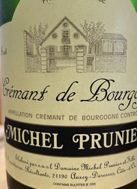 Michel Prunier et Fille Crémant de Bourgognetext