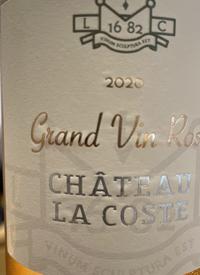 Château La Coste Grand Vin Rosétext